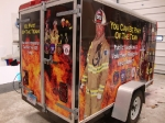 Enfield, CT FD recruiting trailer