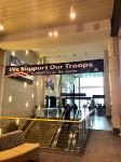 Banner at Bradley Airport